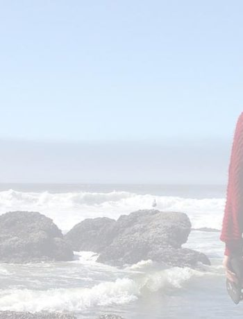 Image of Oldest staring out at the ocean